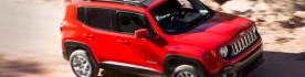 Jeep Renegade com teto solar